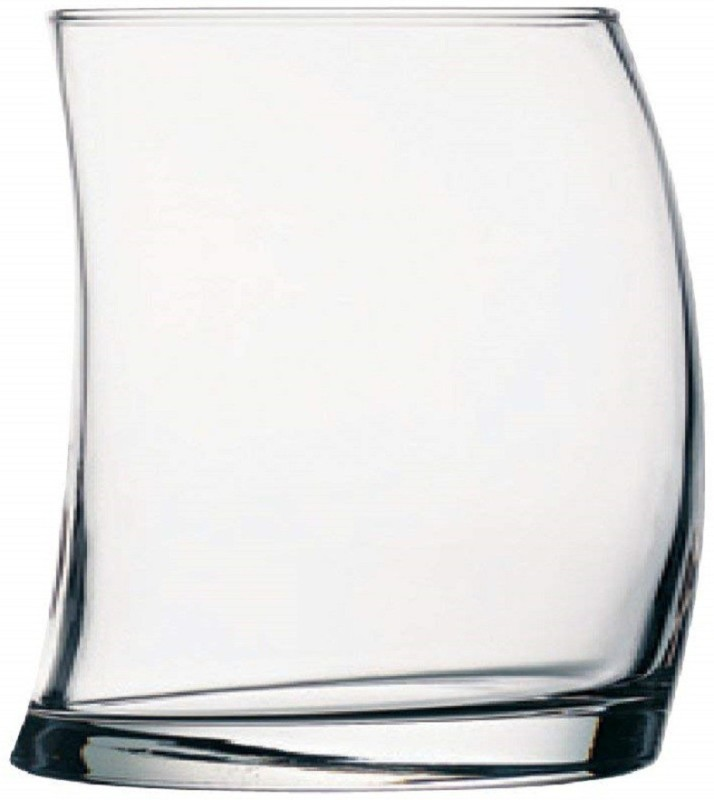 Pasabahce Whisky Glass Set, 370ml, Set of 6 Glass Set(Glass, 370, Clear, Pack of 6)