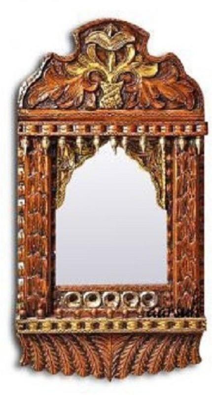Craftatoz Wood Jharokha(68 cm x 38 cm Handcrafted)