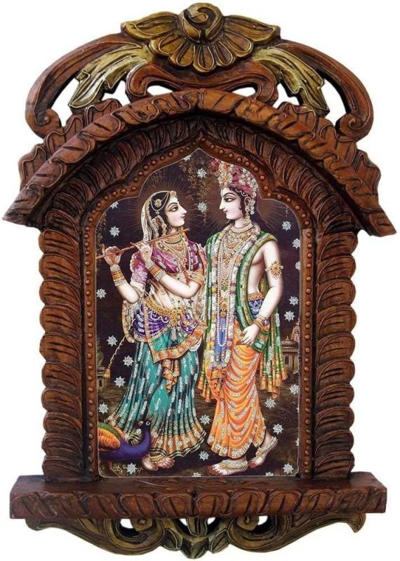 Craftpoint Wood Jharokha(48 cm x 28 cm Handcrafted)
