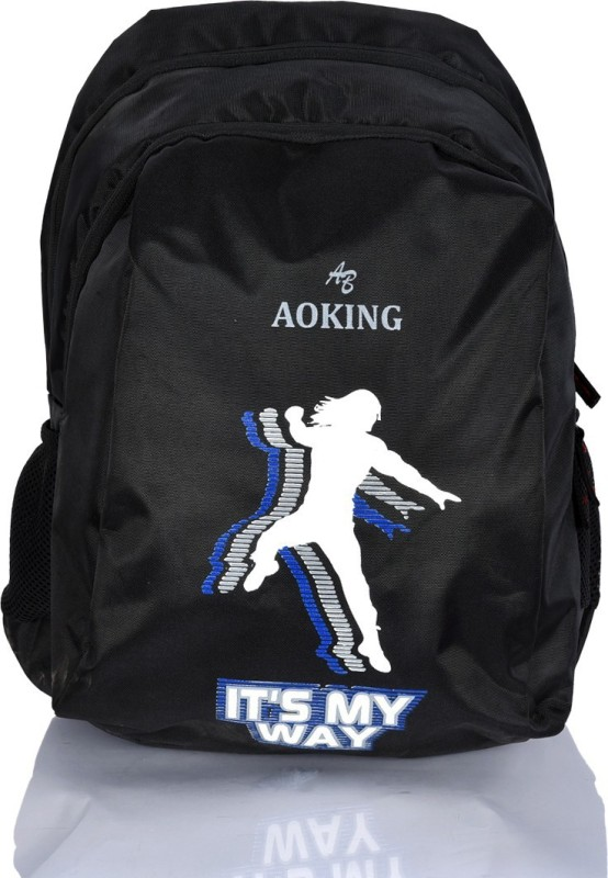 Aoking It's My Way Waterproof Backpack(Multicolor, 15 L)