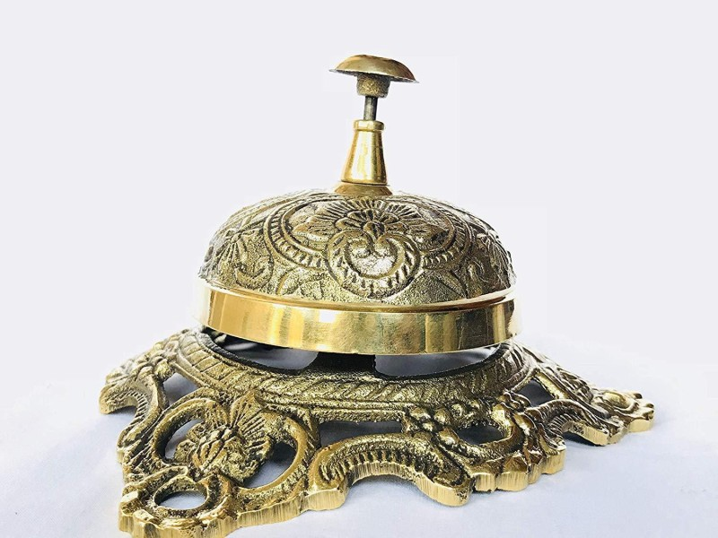 MHE Brass Desk Bell