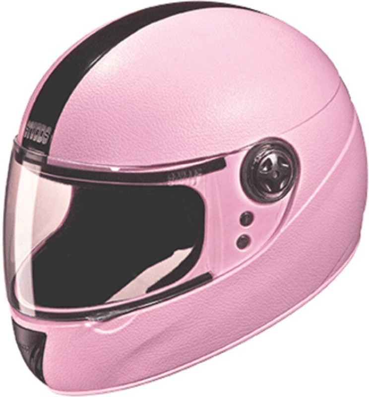 Studds Chrome Elite ( Kids) Motorbike Helmet(Pink)