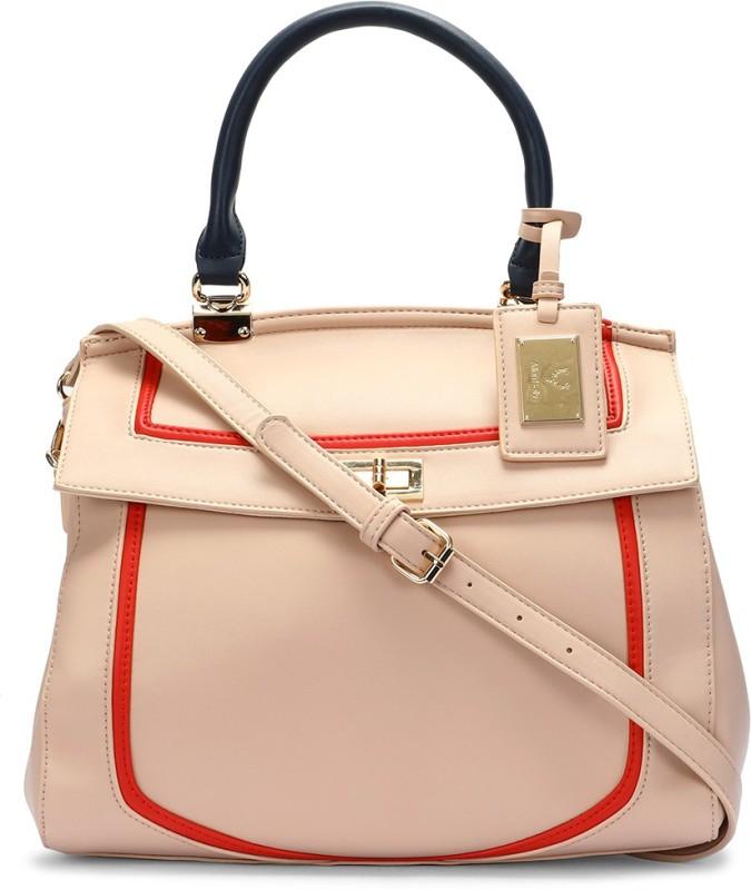 Allen Solly Pink Hand-held Bag
