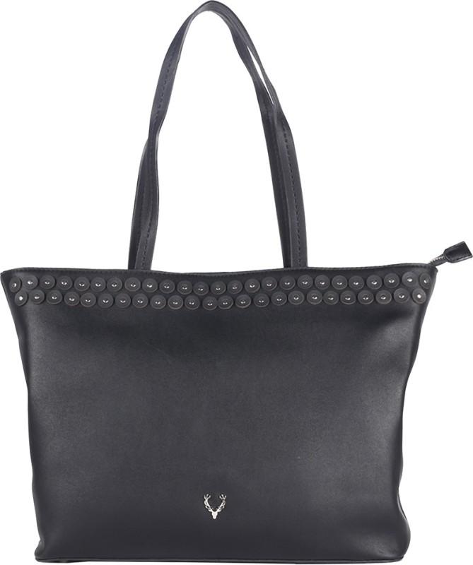 Allen Solly Black Hand-held Bag