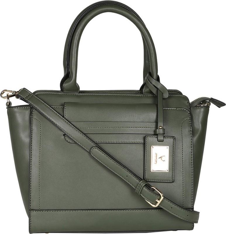 Allen Solly Green Hand-held Bag