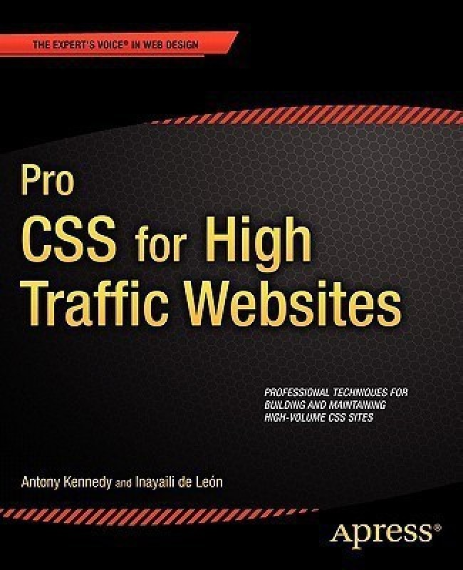 Pro CSS for High Traffic Websites(English, Paperback, Kennedy A.)