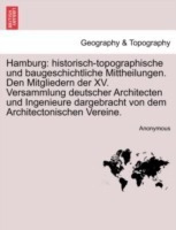 Hamburg(English, Paperback, Anonymous)