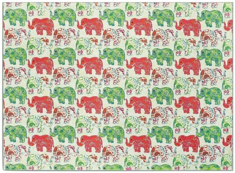 Ratan Jaipur JUN Printed Handmade Paper Gift Wrapper(Multicolor)