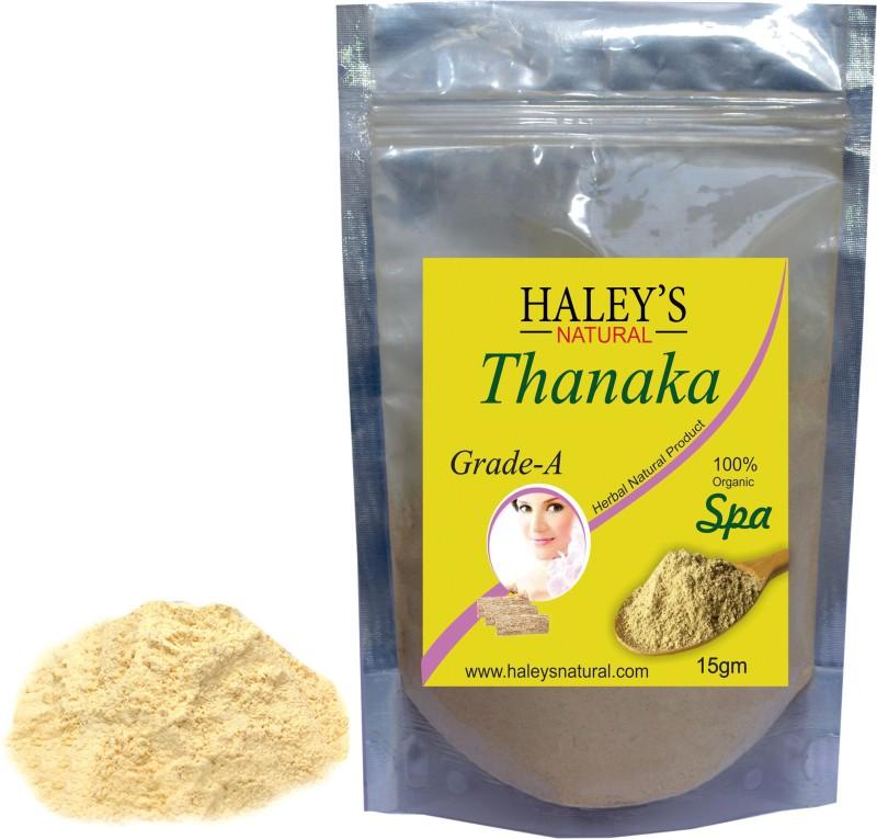 Haley S Natural Thanaka Powder Grade A For Hair Removal Cream 15
