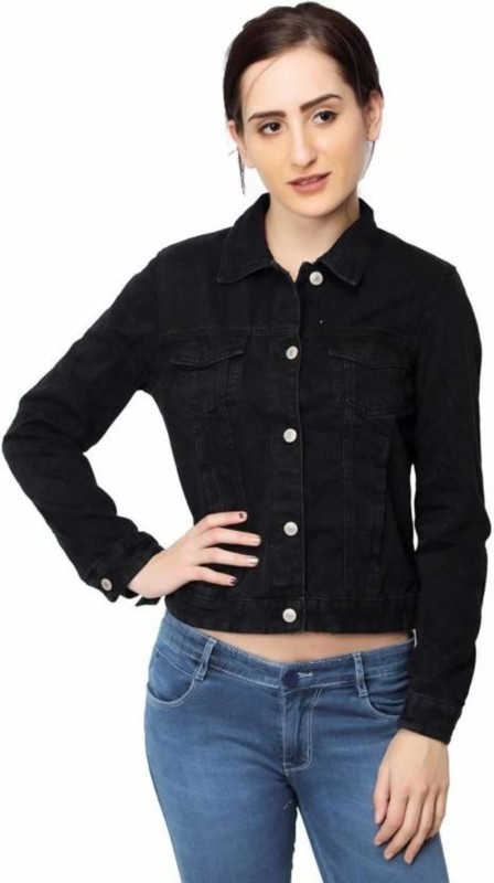 C.Cozami Full Sleeve Solid Women Denim Jacket