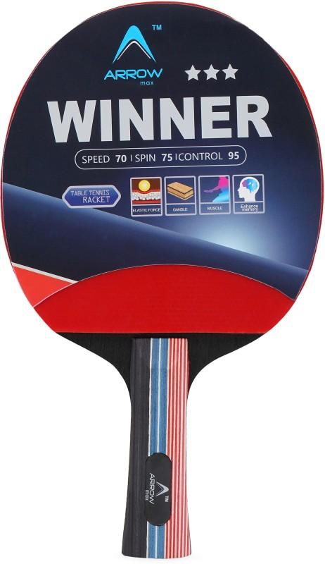 Arrowmax HIGH QUALITY WINNER Multicolor Table Tennis Racquet(150 g)