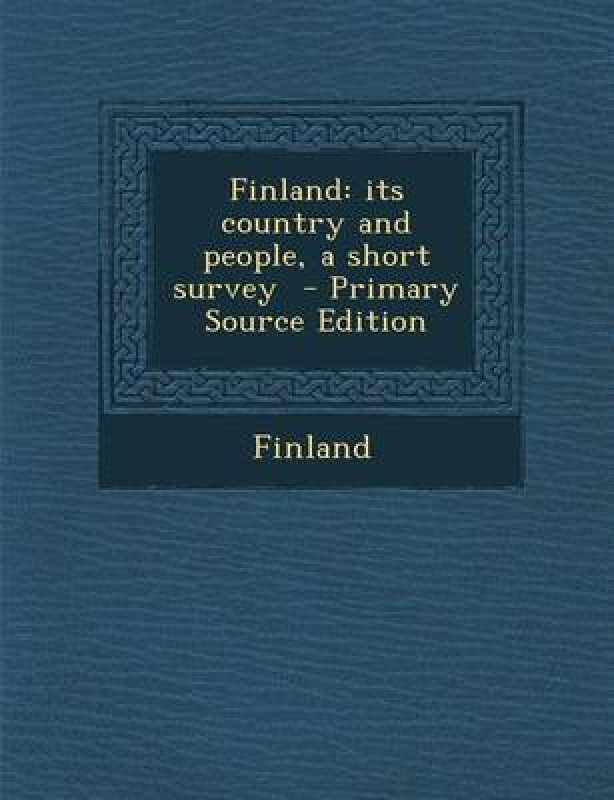 Finland(English, Paperback, unknown)