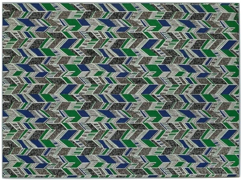 Ratan Jaipur GEOMETRIC Printed Handmade Paper Gift Wrapper(Multicolor)