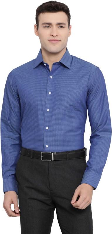 Arrow Men Solid Casual Purple Shirt