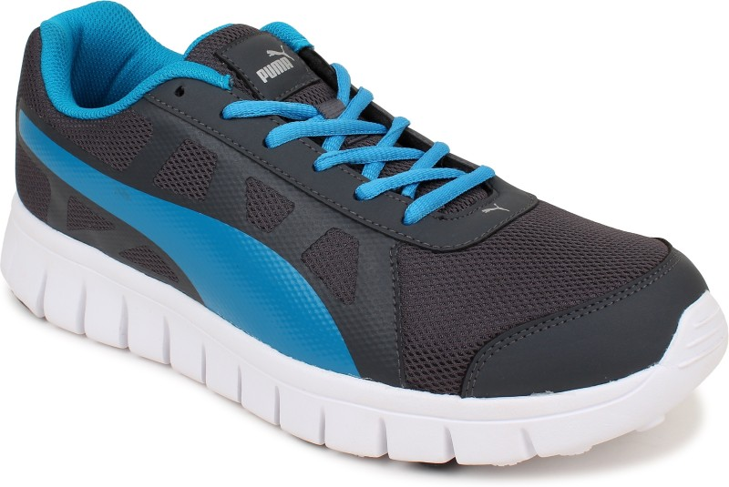 Puma Walking Shoes For Men(Blue, Black)