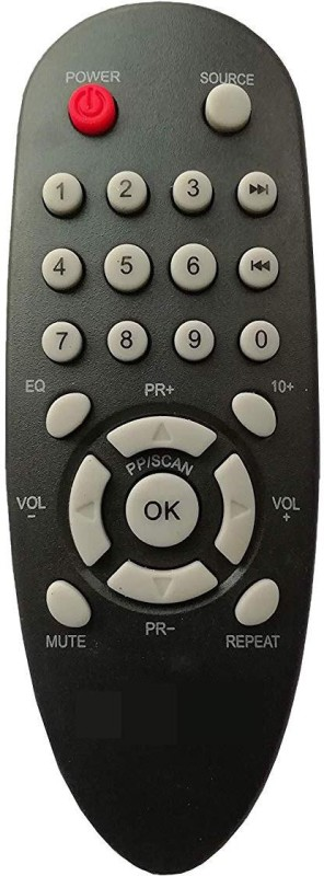 LipiWorld Home Theater System Remote Compatible for Philips ( Fish Shape ) Remote Controller(Black)