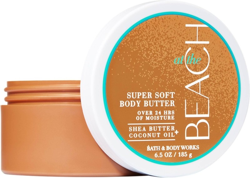 THE BATH & BODY WORKS AT THE BEACH SUPER SOFT BODY BUTTER 185 GM(185 g)