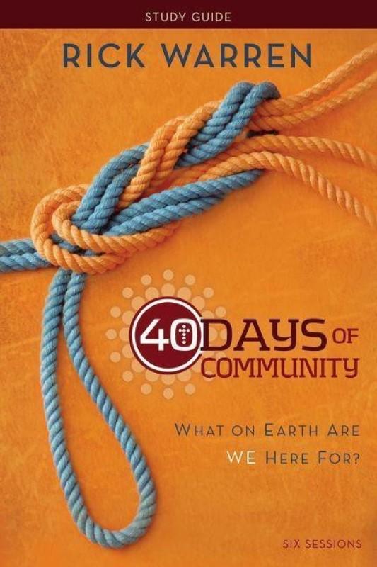 40 Days of Community Study Guide(English, Paperback, Warren Rick)