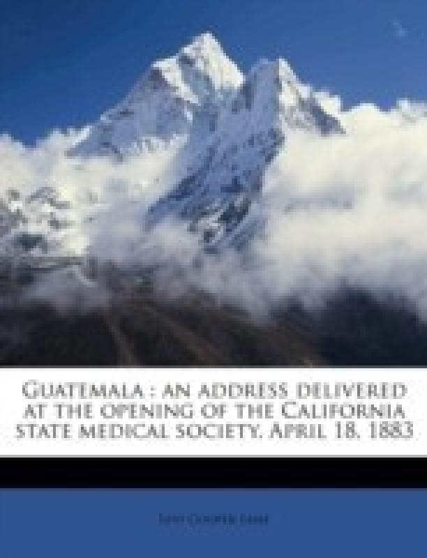 Guatemala(English, Paperback, Lane Levi Cooper)