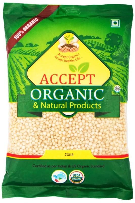 ACCEPT ORGANIC Jowar Flour / Shorghum Flour Jowar(1 kg)