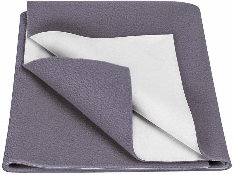 Goodluck Microfiber Diaper Changing Mat(Grey, Large)