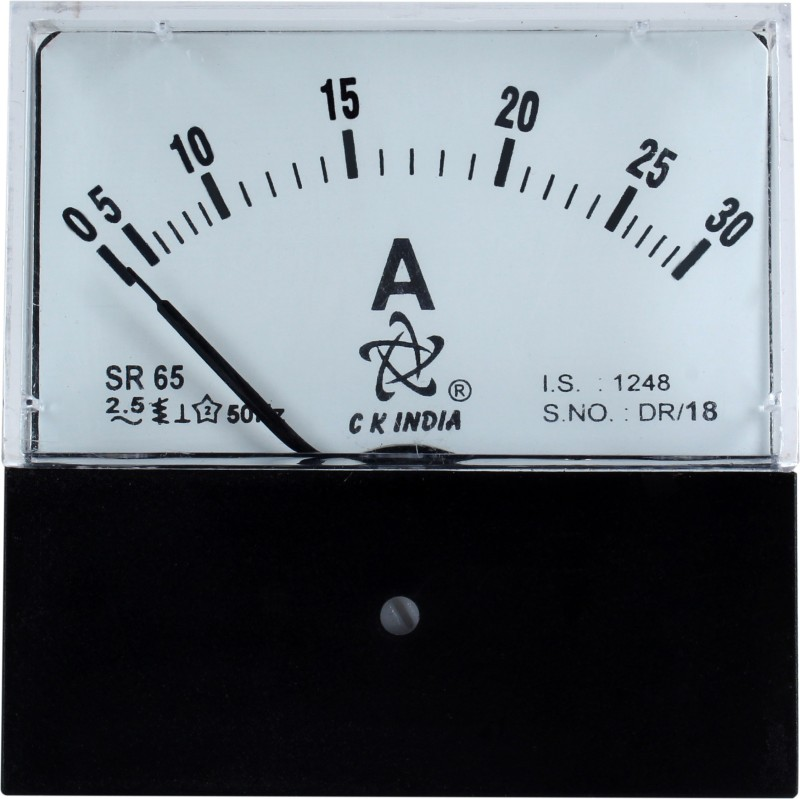 ckindia SR65 MM Voltmeter(Analog)