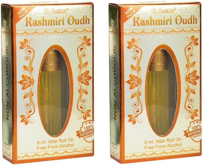 Al Nuaim Kashmiri Oudh(8 ml Pack of 2) Floral Attar (Oud (agarwood) Floral Attar(Oud (agarwood))