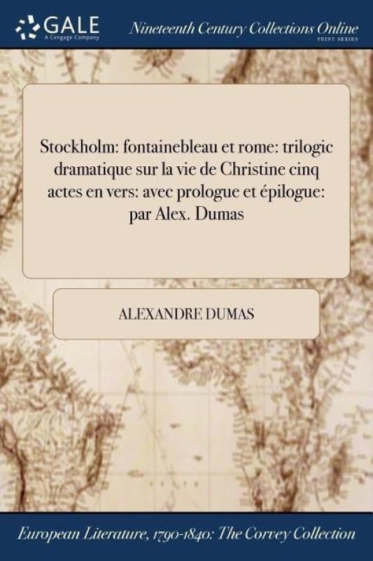 Stockholm(French, Paperback, Dumas Alexandre)