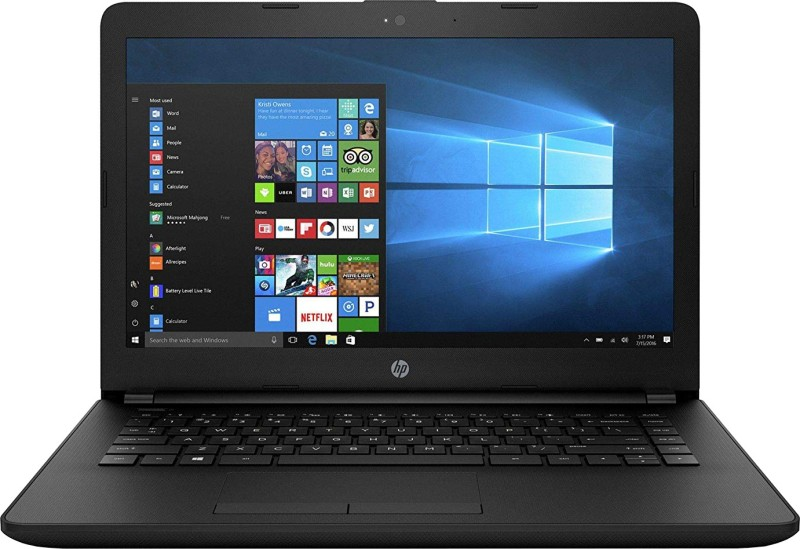 HP 14q Core i3 7th Gen - (4 GB/1 TB HDD/Windows 10 Home) 14q-CS0005TU Thin and Light Laptop(14 inch, Jet Black, 1.47 kg)