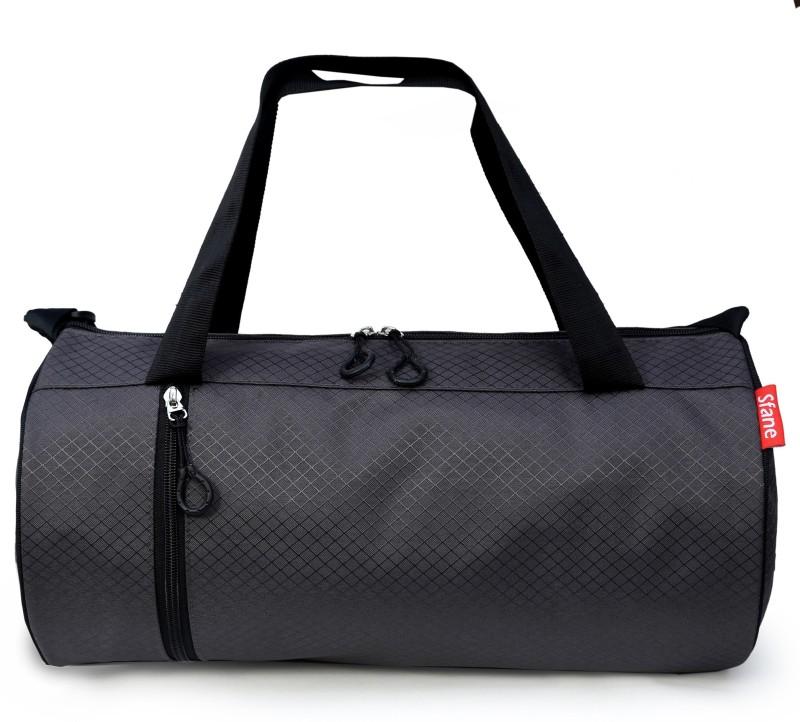 sfane Trendy Men & Women Gray Sports Duffel Gym Bag(Green)