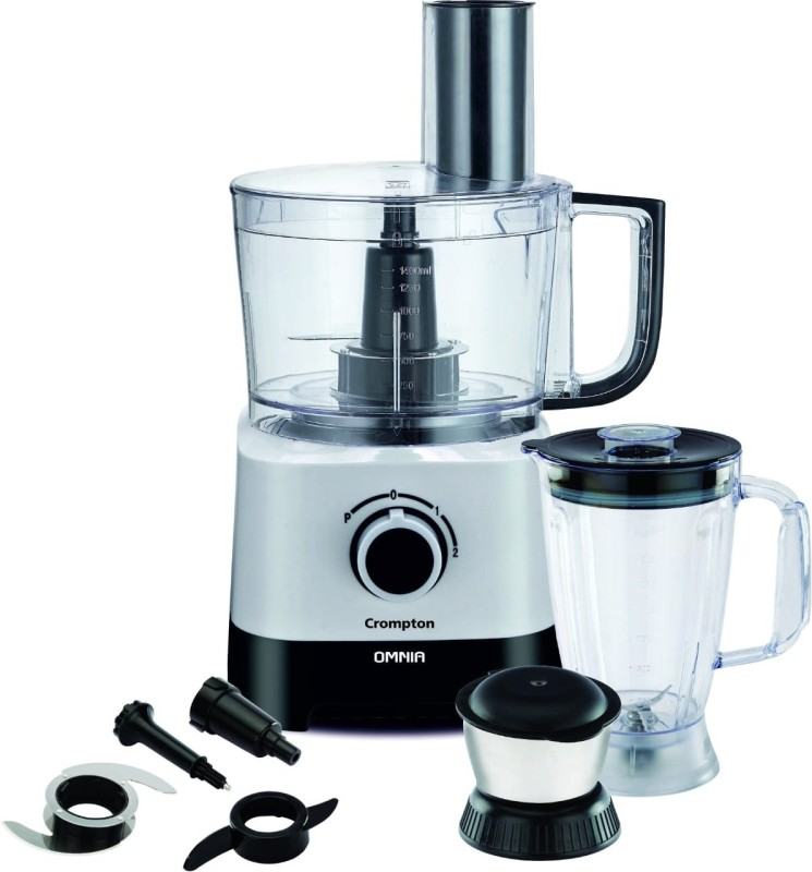 Crompton OMNIA 700 W Food Processor(White and black)