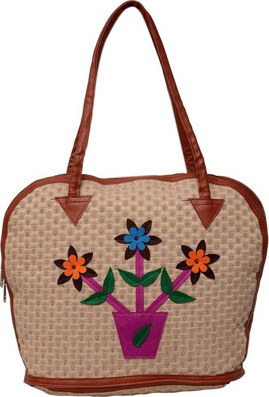 Roshiaaz Women Beige Messenger Bag