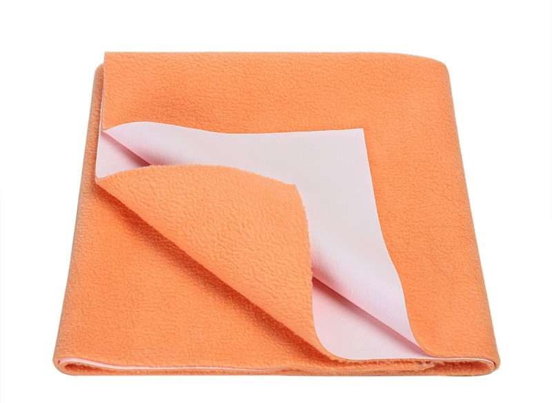 Goodluck Microfiber Diaper Changing Mat(Orange, Medium)