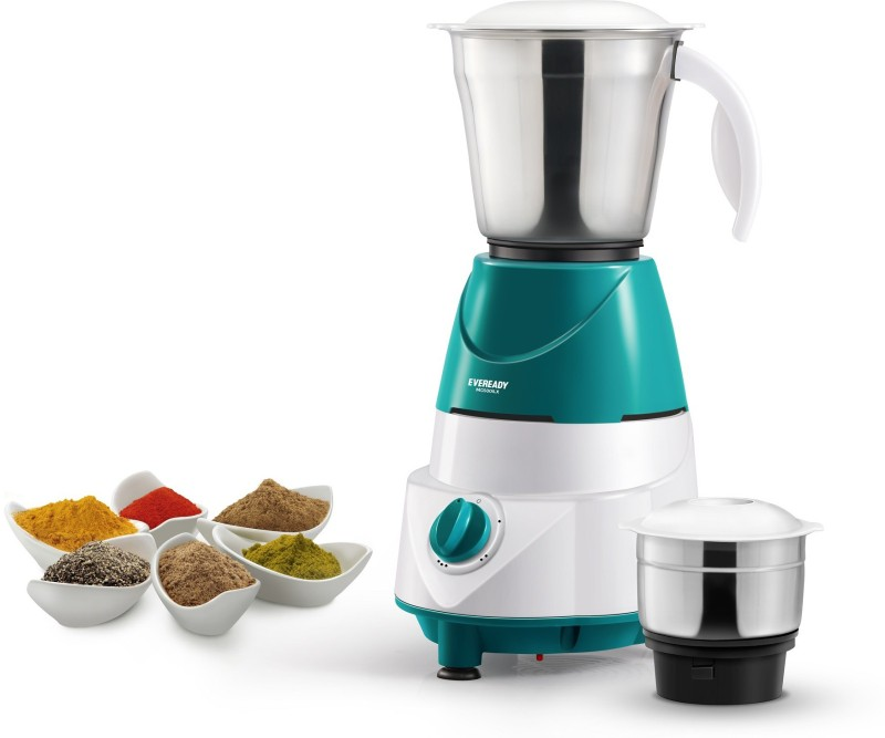 Eveready MG500i LX MG500iLX 500 Mixer Grinder(Green, 2 Jars)
