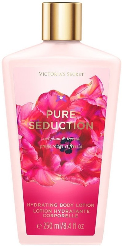 Victoria's Secret Pure seduction red plum & Freesia Hydrating Body Lotion(250 ml)