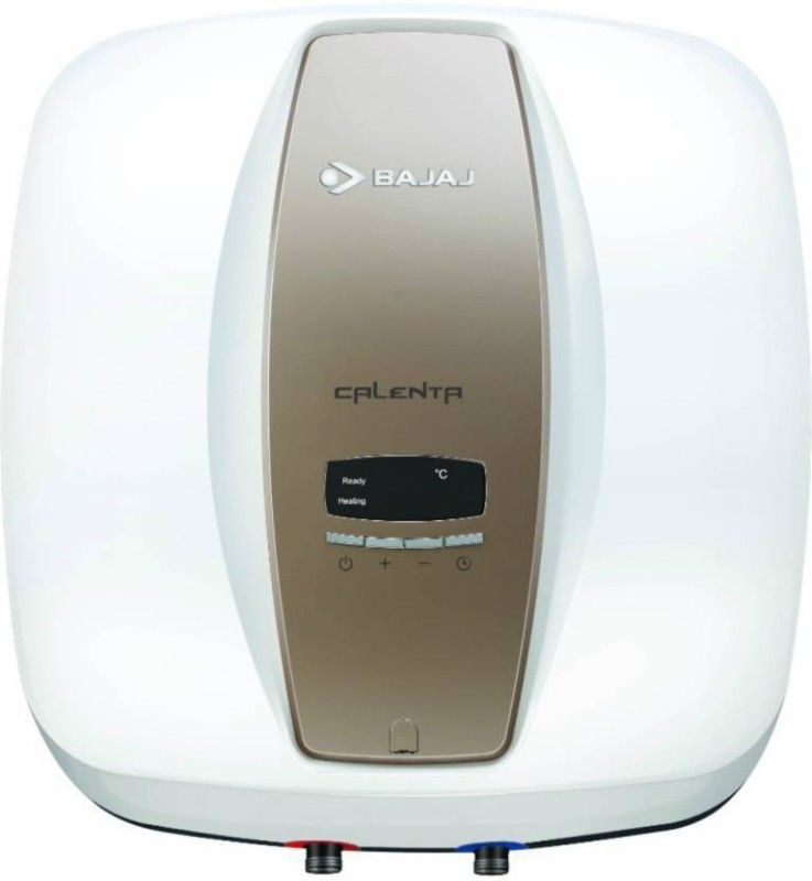 Bajaj 25 L Storage Water Geyser(white brown, Calenta Digi Storage - 150764)