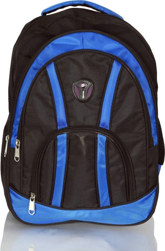 Aoking Stylish Waterproof Backpack(Black, Blue, 18 L)