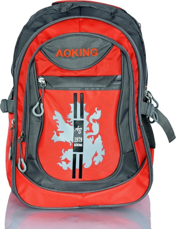 Aoking AB--1979 Waterproof Backpack(Red, Grey, 20 L)