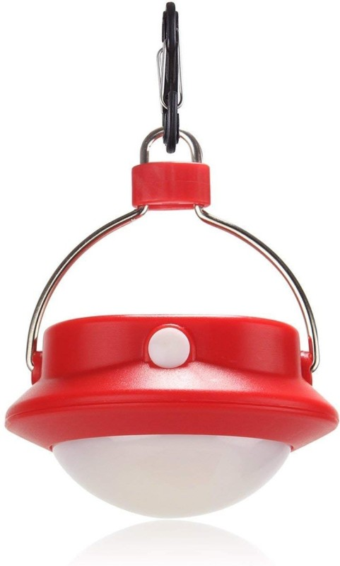 TinyBrite Battery Powered LED Tent Light for Emergency, Camping, Hiking, Power Outages LED Lantern(Red)
