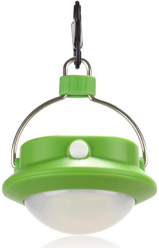 TinyBrite Battery Powered LED Tent Round Light for Outdoor, Emergency, Camping, Hiking LED Lantern(Green)