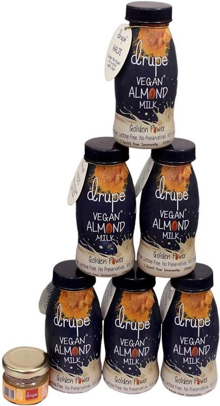 Drupe Drupe Fresh Haldi Golden Power Almond Milk(6 x 200 ml)