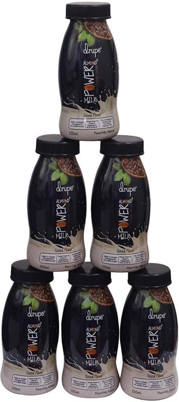 Drupe Drupe Cocoa Power Almond Milk(6 x 200 ml)
