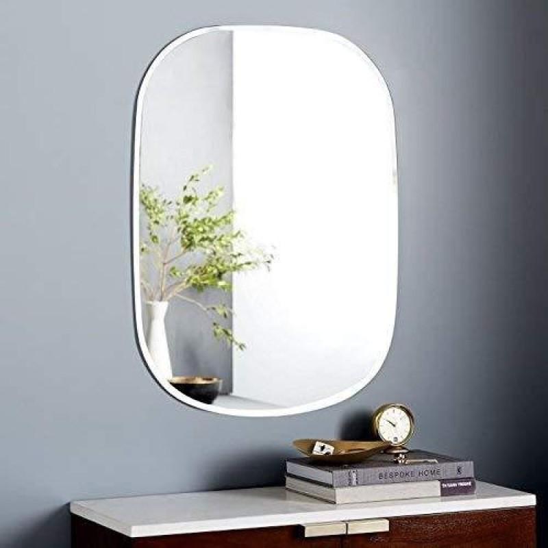 Seven Horses bm-16x24-oval Decorative Mirror(Oval Finish : round finish on corners)