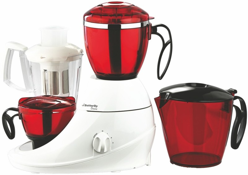Butterfly Desire SIRE-3-jar1 750 Juicer Mixer Grinder(Multicolor, 3 Jars)
