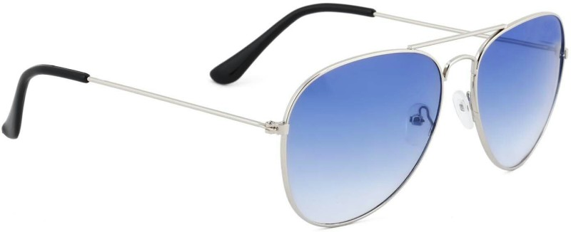 Royal Stars Aviator Sunglasses(Blue) image