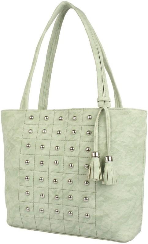 rishi Women Green Shoulder Bag