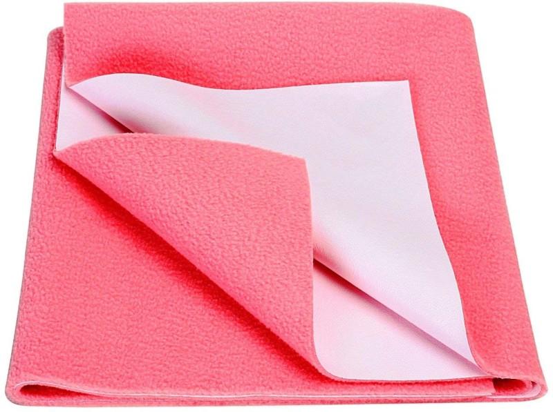 Goodluck Microfiber Diaper Changing Mat(Pink, Small)