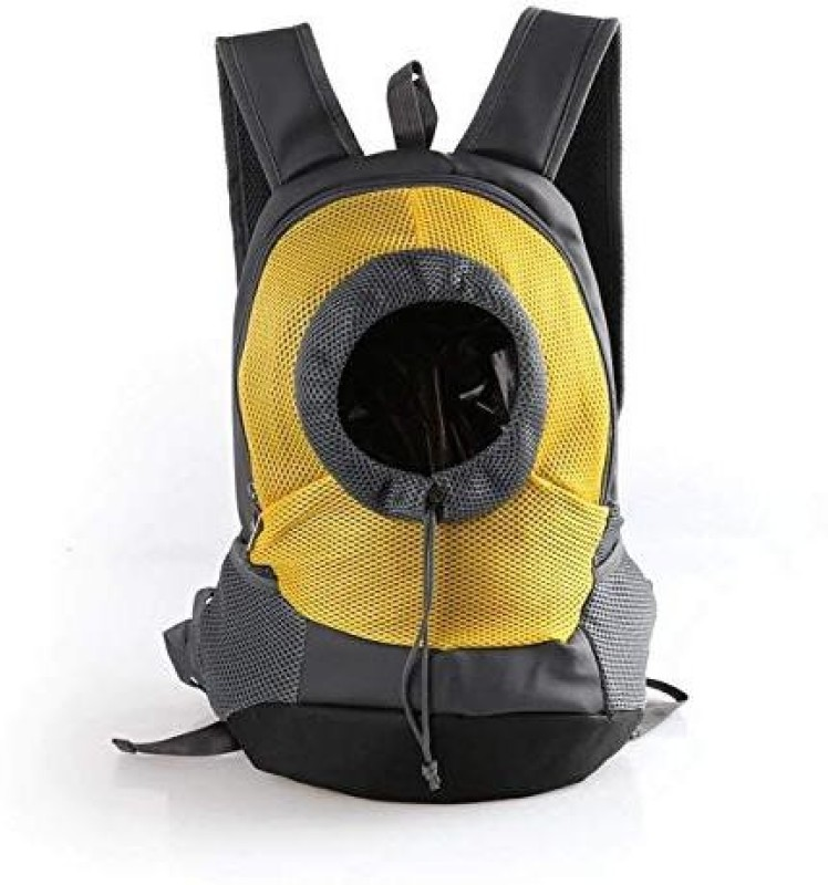 SRI Pet Carrier Backpack Capsule Bag Carrier for Cats and Dogs Yellow Backpack Pet Carrier(Suitable For Dog, Cat)