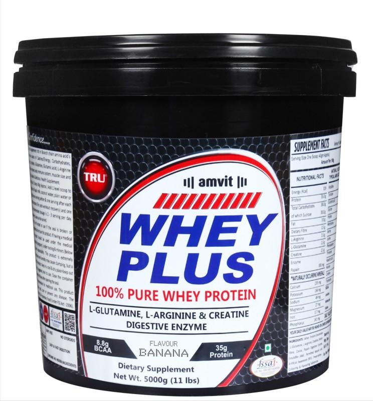 TRU WHEY PLUS Whey Protein(5000 g, BANANA)