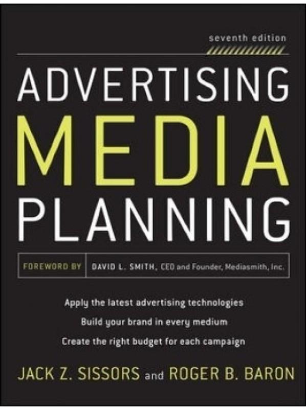 Advertising Media Planning, Seventh Edition(English, Paperback, Baron Roger)